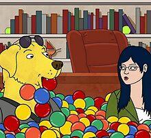Mr. Peanut Butter & Diane - Ball Pit by jackalops