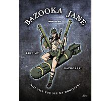 Bazooka Jane - Coloured Photographic Print