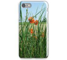 Poppies Bloomimg Field Edge iPhone Case/Skin