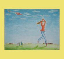 Flying kite One Piece - Short Sleeve