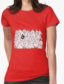 Standing out, Fitting in Womens Fitted T-Shirt