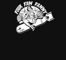 Four Fan Fanny Womens Fitted T-Shirt