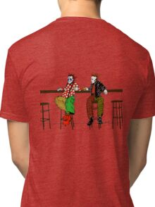 Butch never thought he'd meet his real father... Tri-blend T-Shirt