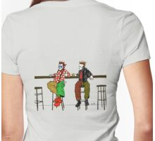 Butch never thought he'd meet his real father... Womens Fitted T-Shirt