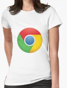 Google Chrome Womens Fitted T-Shirt
