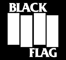 Black Flag Dope Logo In Black by manekineko58