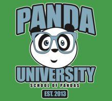 Panda University - Blue Kids Clothes