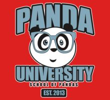 Panda University - Blue Kids Clothes
