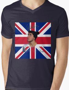Alfie Deyes Union J Mens V-Neck T-Shirt