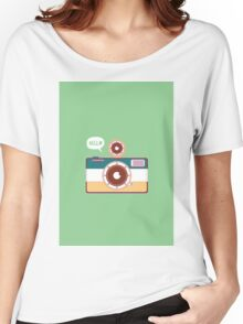 say hello to camera Women's Relaxed Fit T-Shirt