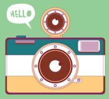 say hello to camera Sticker