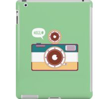 say hello to camera iPad Case/Skin