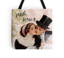 Valentine vintage love couple  Tote Bag