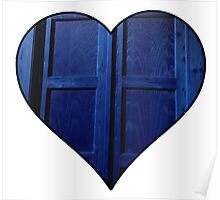 Doctor Who Tardis Heart Poster