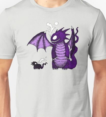 Dragons in the rain Unisex T-Shirt