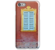 Palazzo window - Italy iPhone Case/Skin