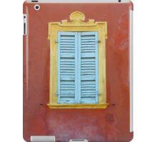 Palazzo window - Italy iPad Case/Skin