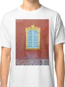 Palazzo window - Italy Classic T-Shirt