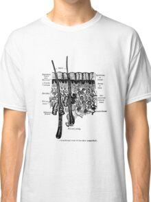 Organs of the Skin. Classic T-Shirt
