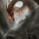 Dark Dragon by Anthony  Christou