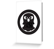 GO$T ghost logo Greeting Card