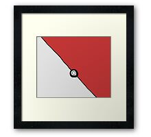 Pocket sphere Framed Print