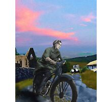 Liam Mellows - The Chase  Photographic Print