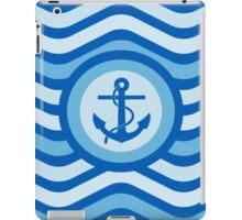 Blue Anchor Sailor Design iPad Case/Skin