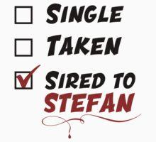 Stefan Salvatore TVD Kids Tee