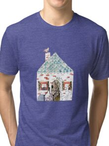 Cozy Cottage Tri-blend T-Shirt
