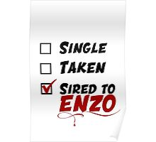 Enzo TVD Poster