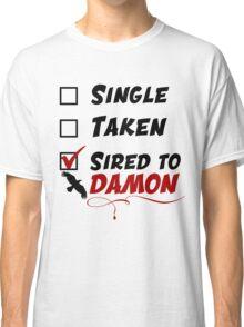 Damon Salvatore TVD Classic T-Shirt
