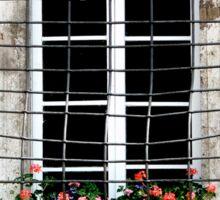 Renaissance Palazzo Window Sticker