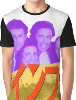 Vaporwave Seinfeld Graphic T-Shirt