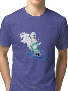 VESPA : baby biker Tri-blend T-Shirt