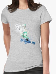 VESPA : baby biker Womens Fitted T-Shirt