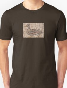 Ancient Duck Mosaic Ephesus Turkey T-Shirt