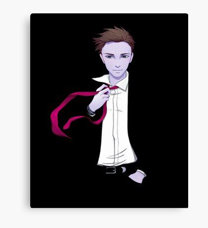 Damien's Red Tie Canvas Print
