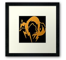 Foxhound Orange - Metal Gear Framed Print