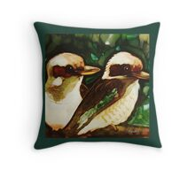 kookaburras Throw Pillow