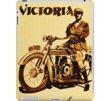 VICTORIA : Motorrader victoria iPad Case/Skin