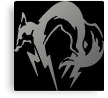 FoxHound Grey- Metal Gear Canvas Print
