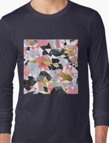 Cool geometric abstract pattern Long Sleeve T-Shirt