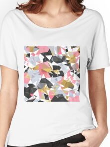 Cool geometric abstract pattern Women's Relaxed Fit T-Shirt