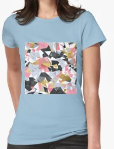 Cool geometric abstract pattern Womens Fitted T-Shirt