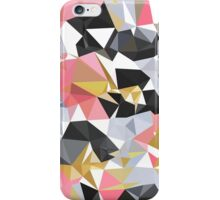 Cool geometric abstract pattern iPhone Case/Skin