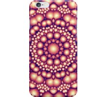 Abstract Symmetry of Golden Shapes iPhone Case/Skin