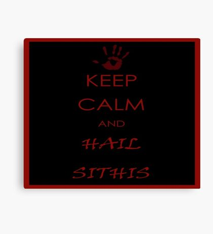 Sithis Canvas Print