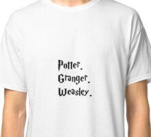 PotterxGrangerxWeasley Classic T-Shirt