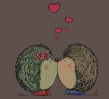 Hedgehogs in love Baby Tee